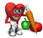 heart and veggie